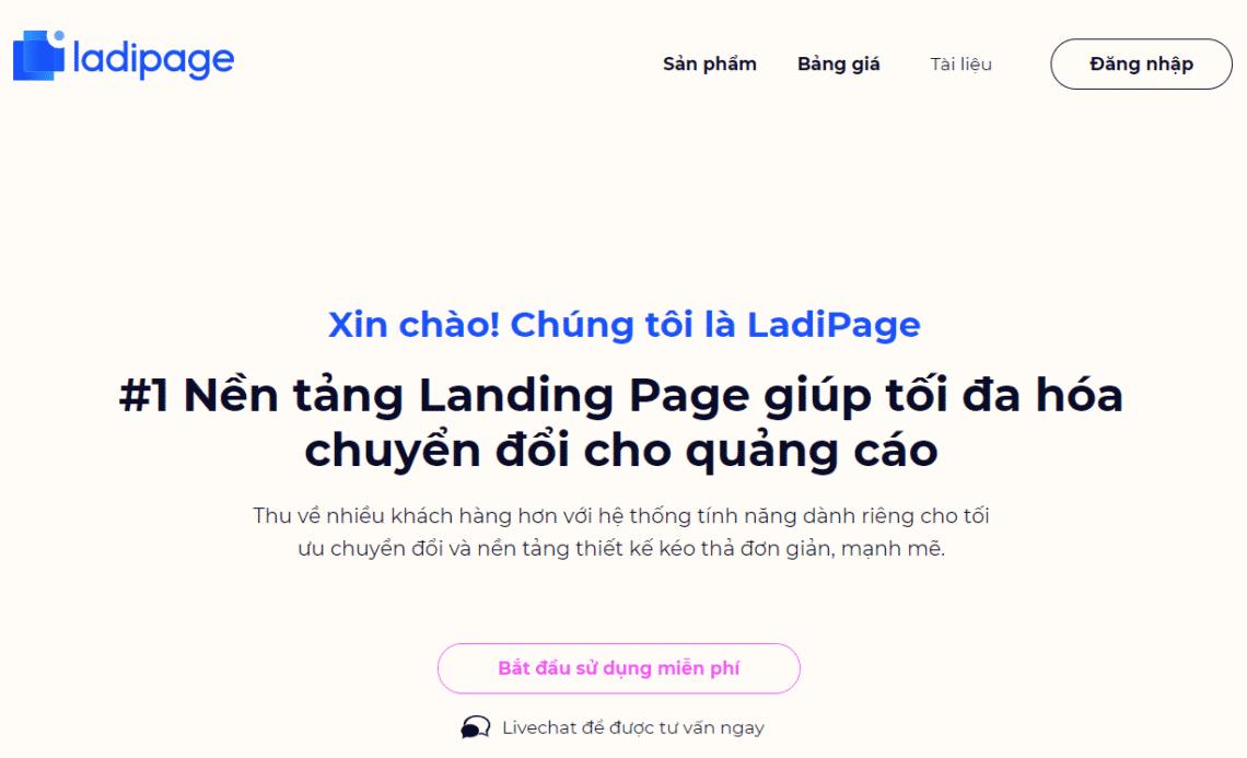 Ladipage website là gì