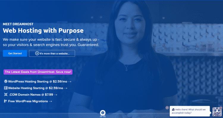Hosting Dreamhost - Hosting giá rẻ được khuyến nghị bởi WordPress