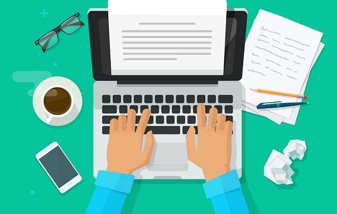 Viết nháp nội dung - cách viết blog thu hút đọc giả