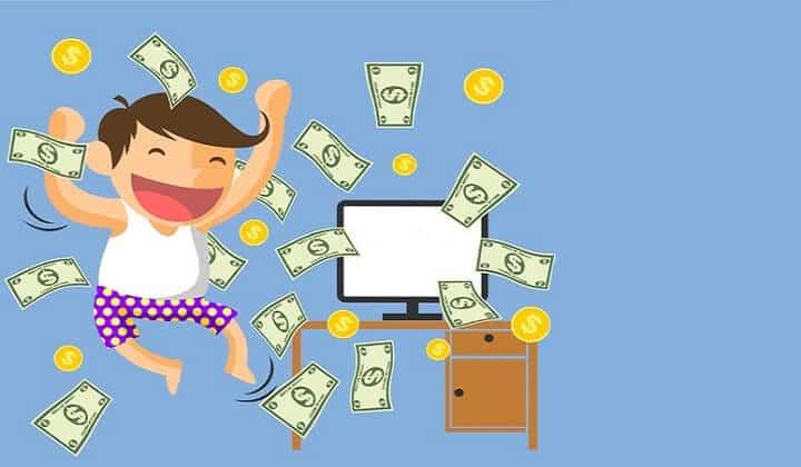 kiếm tiền online với website wordpress