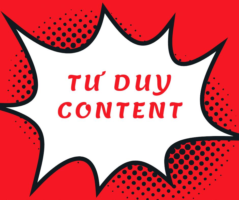 tư duy content